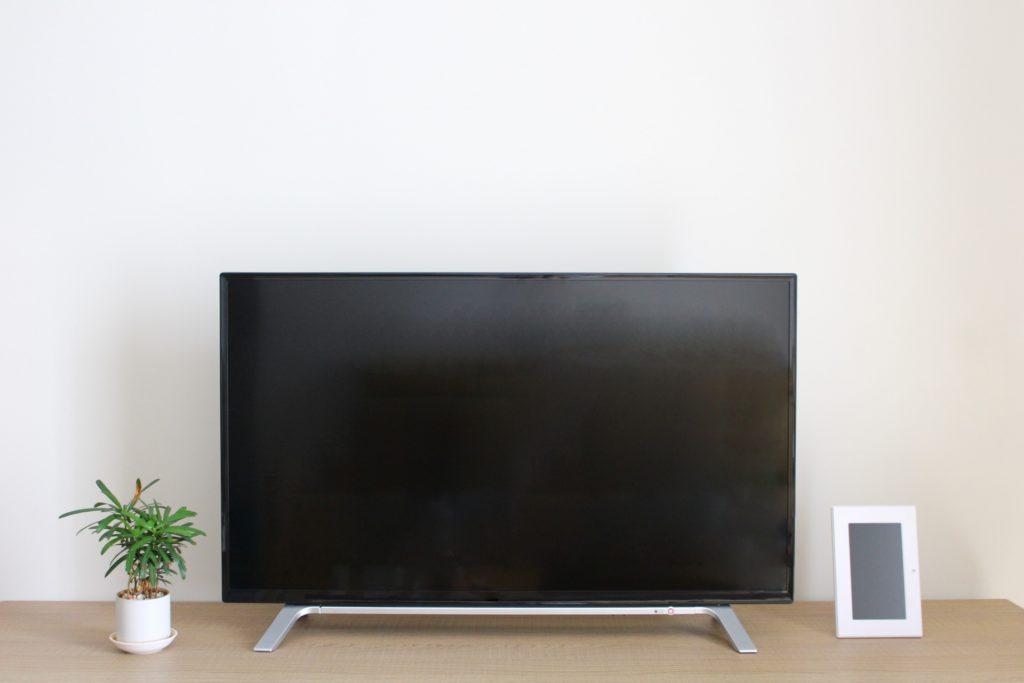 リビングに設置されたテレビ