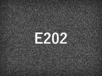 E202エラーとは
