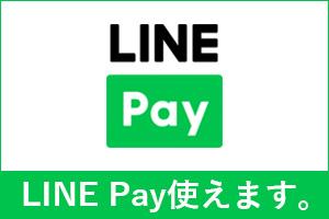 LINE Payが使えます。